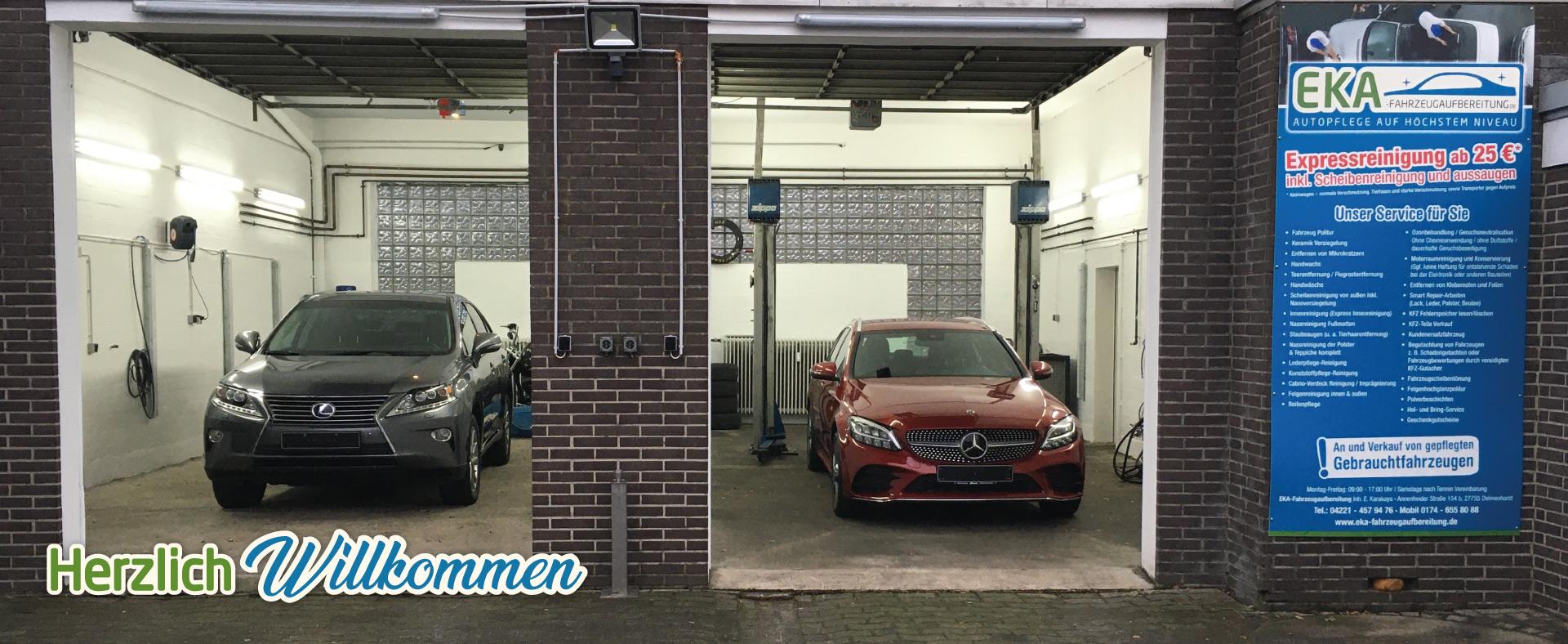 Fahrzeugaufbereitung Halle