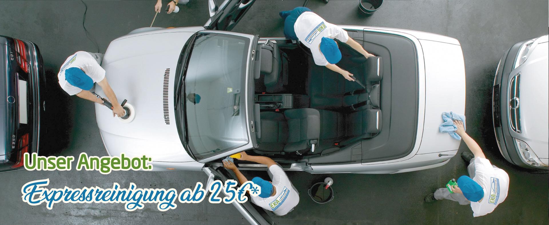 Autopflege bei EKA Fahrzeugaufbereitung